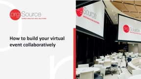 How to build your virtual event collaboratively