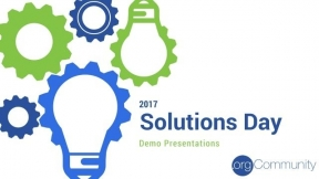 Solutions Day 2017 Product Demos
