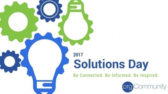 Welcome To Solutions Day 2017