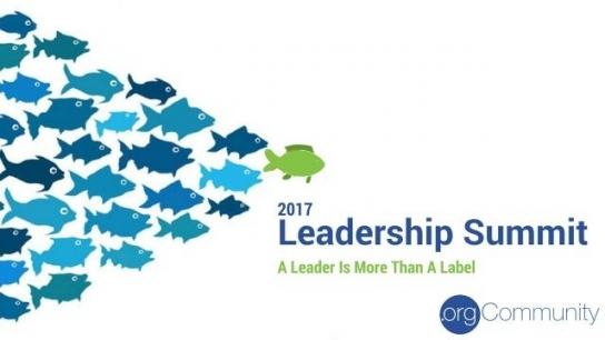 Welcome to .orgCommunity Leadership Summit 2017